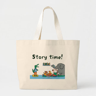 Maisy and Friends Laugh at Story Time Large Tote Bag