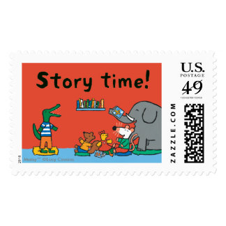Maisy and Friends Laugh at Story Time Postage Stamp