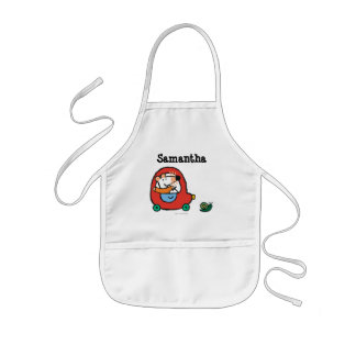 Maisy Drives a Cute Red Car Kids' Apron