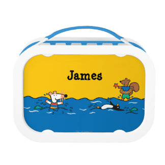 Maisy Goes Swimming at the Beach Lunch Box