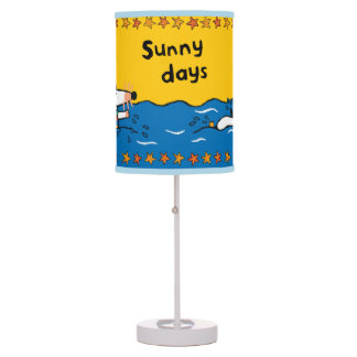 Maisy Goes Swimming at the Beach Table Lamp