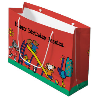 Maisy on the Playground with Friends Large Gift Bag