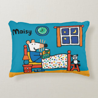 Maisy Ready for Bed Blue Pajamas Decorative Pillow