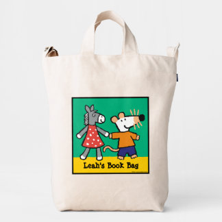 Maisy va a Preeschool Bolsa De Lona Duck