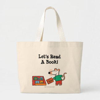 Maisy with Library Books Jumbo Tote Bag