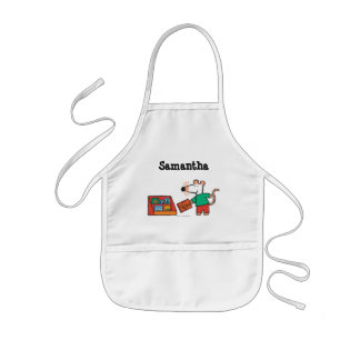Maisy with Library Books Kids' Apron