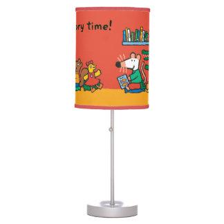 Maisy y amigos leídos juntos lámpara de escritorio