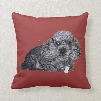 Maitai the Poodle Pillow. Pillows
