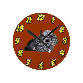 Maitai the Poodle Wall Clock.