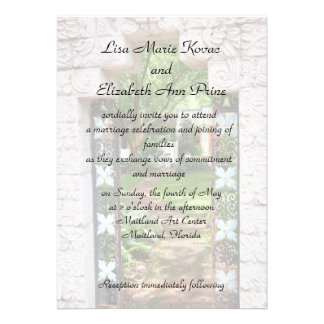Maitland Art Center Commitment Ceremony Personalized Invitations