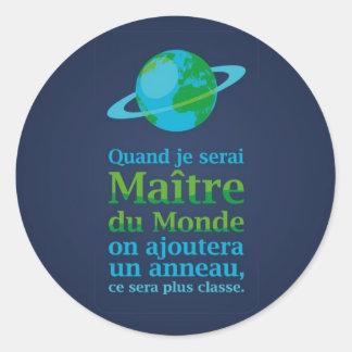 Maître du Monde Sticker
