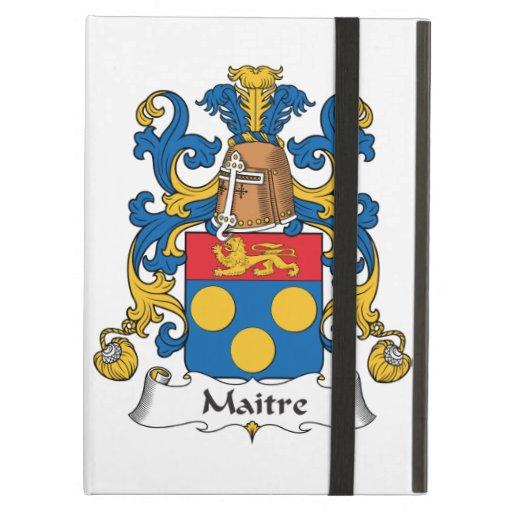 Maitre Family Crest iPad Air Cover