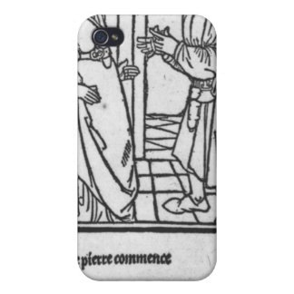 Maitre Pathelin and Guillemette Case For iPhone 4
