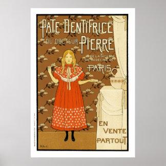 Maitres de l'Affiche Poster: Pate  Dentifrice Poster