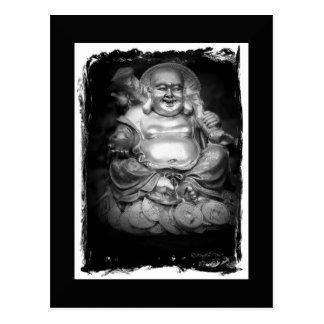 Maitreya B&W Postcard