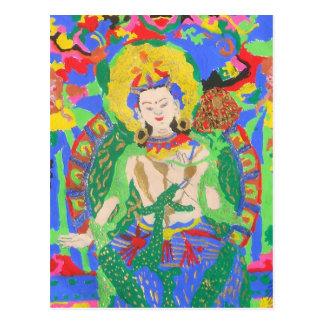 Maitreya Buddha Postcard
