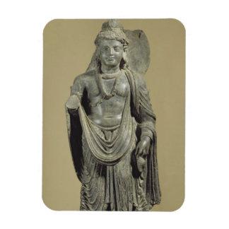 Maitreya, Gandhara (esquisto gris) Iman