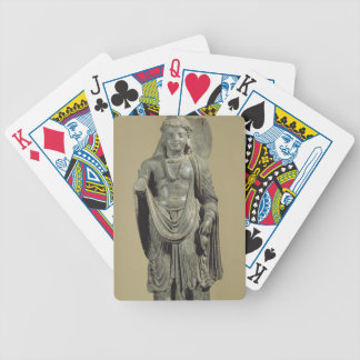 Maitreya, Gandhara (grey schist) Bicycle Playing Cards