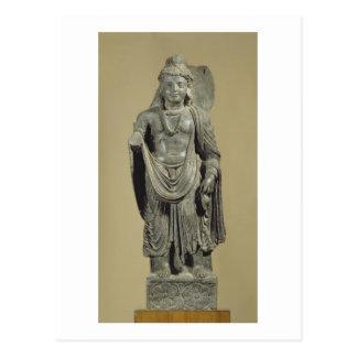 Maitreya, Gandhara (grey schist) Postcard