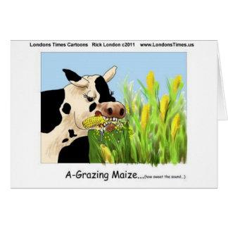 Maíz de Agrazing (camisetas divertidas etc de las  Felicitación