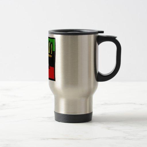 Maíz de Kwanzaa Tazas De Café