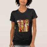 Maíz de la caída del arte pop camiseta