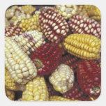 Maíz de Suramérica, Perú, maíz Calcomania Cuadradas Personalizadas