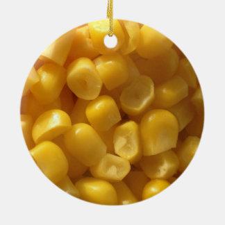 maíz ornamento de navidad