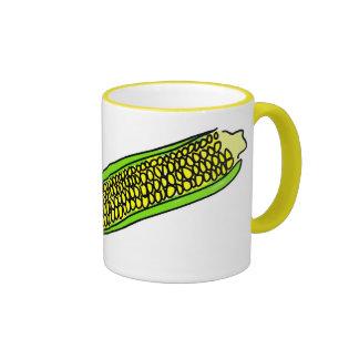 maíz dulce tazas de café