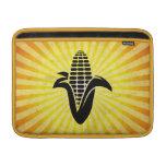 Maíz en la mazorca; Amarillo Funda MacBook