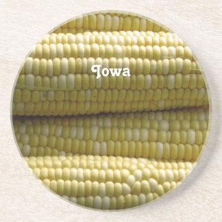 Maíz en la mazorca de Iowa Posavasos Manualidades