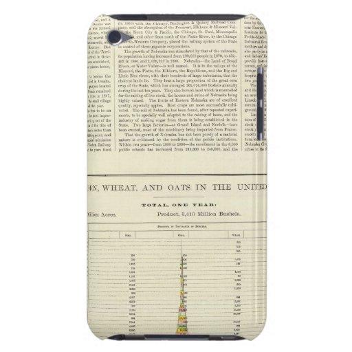 Maíz, trigo, y avena de los E.E.U.U., 1870-1891 2 iPod Case-Mate Carcasa