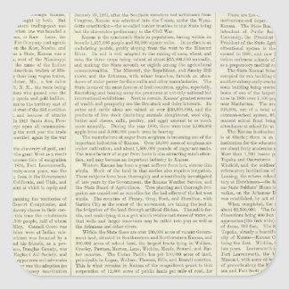 Maíz, trigo, y avena de los E.E.U.U., 1870-1891 Pegatina Cuadrada