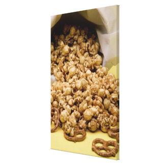 Maíz y pretzeles de Carmel Impresiones En Lona