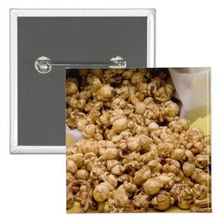Maíz y pretzeles de Carmel Pins