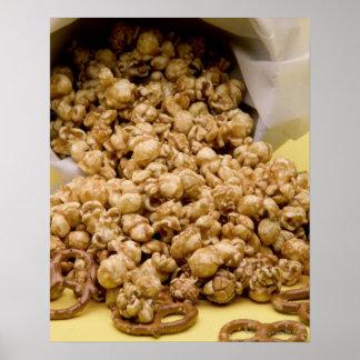 Maíz y pretzeles de Carmel Póster