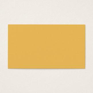 Maize Color Business Card
