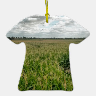 Maize maze Double-Sided T-Shirt ceramic christmas ornament