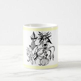 maize sprite classic white coffee mug