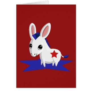 Maize the Democratic Donkey Card
