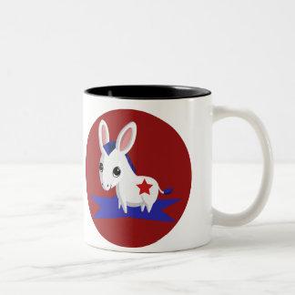 Maize the Democratic Donkey Mugs