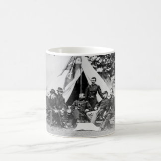 Maj. Gen. Philip Sheridan and his generals 1864 Coffee Mug