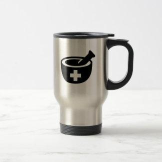 Maja del mortero taza de viaje