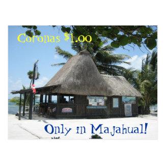 Majahual Bar Postcard