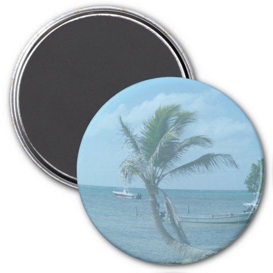 Majahual Beach Christmas Magnet