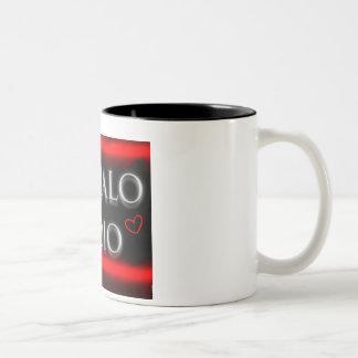 Majalo Radio lD Two-Tone Coffee Mug