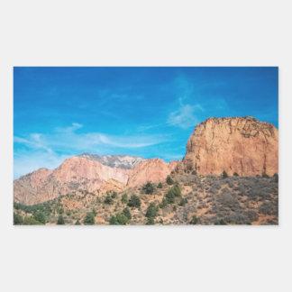 Majestad de la montaña en Zion Rectangular Altavoces
