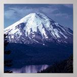 Majestad de la montaña púrpura poster