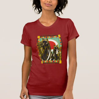 Majestad intrépida ecuestre camiseta