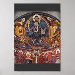 Majestas Domini del Apse de San Clemente Deta Posters